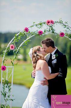 Gerbera Daisy Wedding Arch