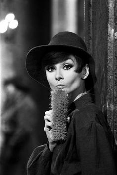 "Audrey Hepburn Brush by Terry O'Neill Actress Audrey Hepburn (1929 - 1993) on the set of a scene from the crime caper 'How to Steal a Million', 1966 in Paris. Limited Edition Silver Gelatin Signed and Numbered 12"" x 16"" / 16"" x 20"" 20"" x 24"" / 20"" x 30"" 24"" x 34"" / 30"" x 40"" 40"" x 60"" / 48"" x 72"" For questions or prices please contact us at info@igifa.com IGI FINE ART"