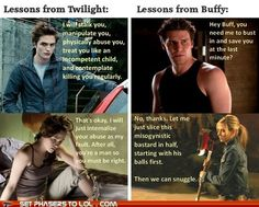 Life Lessons For all my Buffy Fans :) [not that I don't like Twilight, but... Buffy kicks ass]