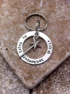 Hey, I found this really awesome Etsy listing at http://www.etsy.com/listing/159060864/my-fairy-godmother-keychain-hand-stamped
