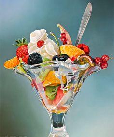 Hyper Realistic Oil Paintings by Dutch Artist Tjalf Sparnaay