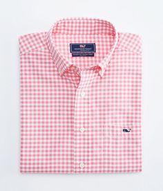 bbe0aabd Performance Gorton Gingham Tucker Shirt Casual Button Down Shirts, Casual Shirts  For Men, Men