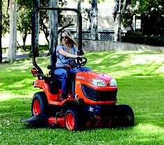 Kubota BX series, Americas top sell sub-compact tractor.