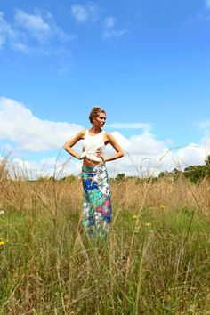 These maxi skirts are perfect for these humid summer days!