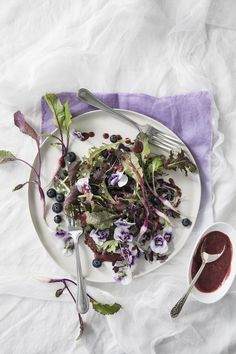 Recipe for a Purple Salad by Libbie Summers