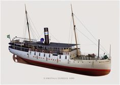 """Steamship"" created by Sune Envall using LightWave 3D software. www.lightwave3d.com"