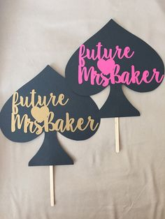 6 Custom Kate Spade inspired bridal shower cardstock centerpieces by NolieSmiles Bridal Shower Table Decorations, Bridal Shower Tables, Bachelorette Party Decorations, Bridal Shower Party, Kate Spade Party, Kate Spade Bridal, Paper Centerpieces, Party Ideas, Party Party