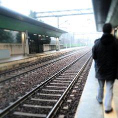 Stazione Rescaldina nel Rescaldina, Lombardia