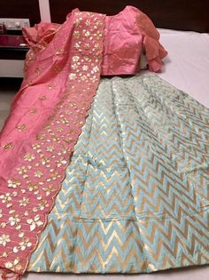 Banarasi Lehenga Umbrella Pattern Styles with price Online. Our fashion magazine personal shoppers help you get the stylish look for Parties & Functions. Banarasi Lehenga, Indian Lehenga, Silk Dupatta, Brocade Lehnga, Anarkali, Bridal Dupatta, Sharara, Salwar Kameez, Indian Bridal Outfits
