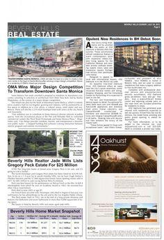 432 Oakhurst in Beverly Hills Courier