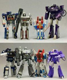 Transformers Decepticons, to IDW Transformers Masterpiece, Transformers Action Figures, Transformers Toys, Original Transformers, Retro Toys, Vintage Toys, Gi Joe, Transformers Generation 1, Gundam