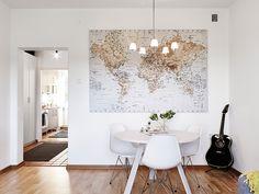 Big world map