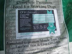 Truly, a super premium quality, hypo allergenic dog food that uses salmon as the main ingredient with a high oil content. This is the perfect ration for dogs with sensitive tummies or skin problems.  With Glucosamine, Methylsulfonylmethane, Chondroitin Sulphate included in the food, the benifits are healthy joints and connective tissue maintenance. Now the choice of many champions!  15kg £32.00