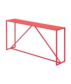 Painted Steel furniture  Side or consule table