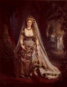La comtesse di Castiglione. 1857