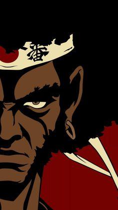 #Anime #Samourai Afro Samurai Afro Samurai, Anime Manga, Anime Art, Samurai Artwork, Dope Cartoons, Black Anime Characters, Fantasy Comics, Afro Art, Arte Popular