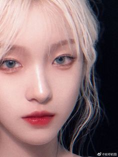 Korean Makeup Look, Asian Makeup, Uzzlang Girl, Art Girl, Cute Korean Girl, China Girl, Aesthetic Girl, Woman Face, Pretty Face