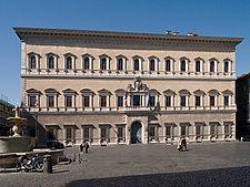 Palazzo Farnese. Antonio da Sangallo nuorempi 1514