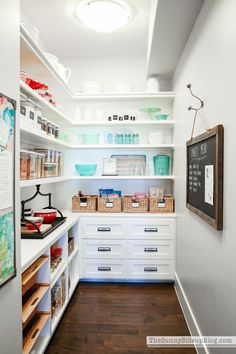 Organized Pantry (Sunny Side Up); Not a large space but so perfectly edited!