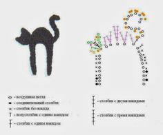 APPLIQUE CROCHET PATTERN: ANIMALI   Paciuga, Brega e Imbelina