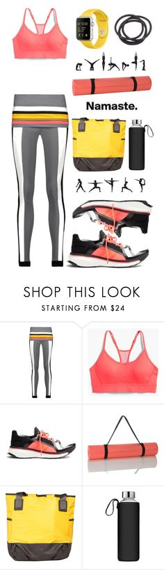 """Namaste: What to Wear to Yoga"" by leslee-dawn ❤ liked on Polyvore featuring No Ka'Oi, New Balance, adidas, M&S Collection, LolÃ« and Mudd"