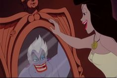 disney villains | Tumblr. this was always my favorite part in lil mermaid....i think its so cool.