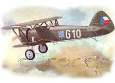 Letov Š.231: KP Modellbausatz des tschechoslowakischen Doppeldecker-Jagdflugzeugs Š-231 im Maßstab 1:72. (http://www.cyram-entertainment.de/shop/products/Modellbau/Militaer/Luftfahrzeuge/Luftfahrt-bis-1939/Letov-Scaron231.html)