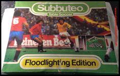 Subbuteo Tabletop Football Soccer 1980-82 Floodlight Edition
