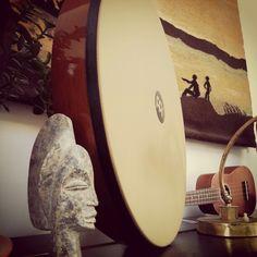 New hand drum Hand Drum, My Music, Surfboard, Drums, Music Instruments, Drum Sets, Drum, Surfboard Table, Drum Kit