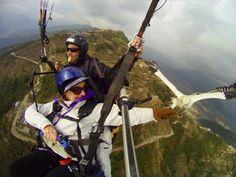 Paragliding with a hawk in Nepal! Amazing!!!