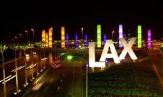 Who can miss this amazing LAX entrance? Designed by Selbert Perkins Design.