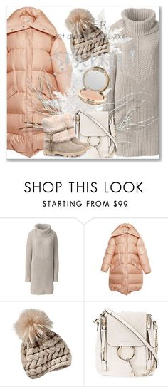 """Snow Bunny"" by andrejae ❤ liked on Polyvore featuring Lands' End, Chloé, polyvoreeditorial and winter2017"