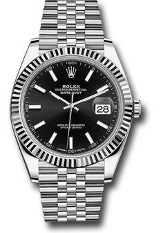 Rolex Oyster Perpetual Datejust 41 Watch 126334 bkij