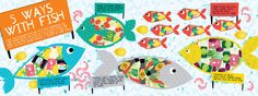 Five Ways With Fish   They Draw & Cook   Fish recipes