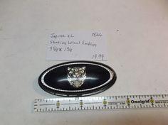 Jaquar XL-STEERING WHEEL BUTTON emblem nameplate logo badge oem 1826   #jaguarxlsteeringwheelhornbutton
