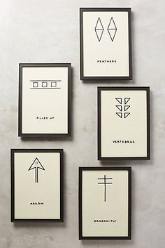 Symbology Wall Art