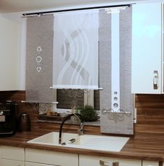Home decoration is one of the most important elements that help you to define the… Steel Railing, Modern Curtains, Bathroom Windows, Interior Decorating, Interior Design, Kitchen Curtains, Window Design, Cool Lighting, Decoration