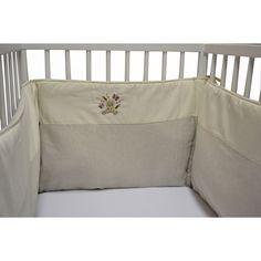 Tour de lit Toutou (50 x 180 cm) : La maison des abeilles - Tour de lit adaptable - Berceau Magique