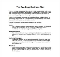 7 Best Business Plan Example Images Business Plan Example