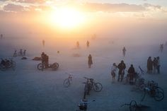 DJ Tennis Captures Art Cars, Dust Storms, and Colorful Clothing at Burning Man