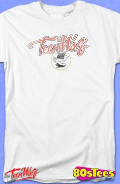 Logo Teen Wolf T-Shirt: Teen Wolf Mens T-Shirt  Teen Wolf Geeks:   Enjoy the comfort of home or travel the great outdoors in this men's style shirt that has been designed and illustrated with great art.
