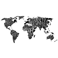 World Map with Travel Quotes Know some one looking for a recruiter we can help and we'll reward you travel to anywhere in the world. Email me, carlos@recruitingforgood.com