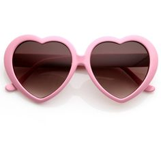Cute Womens Popular Oversized Sweet Heart Valentines Shaped Sunglasses... ❤ liked on Polyvore featuring accessories, eyewear, sunglasses, glasses, oversized glasses, oversized sunglasses, oversized eyewear and over sized sunglasses