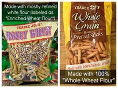 Trader Joes Pretzels - Misleading Food Products II on 100 Days of Real Food