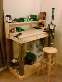 official how to build a basic reloading bench plans and process w