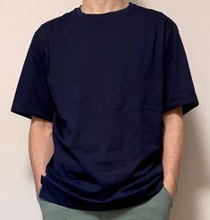 先日ネットで購入したユニクロ+J(プラスジェイ)のリラックスフィットクルーTがとても良かったので追加 […] Uniqlo, Mens Tops, T Shirt, Supreme T Shirt, Tee Shirt, Tee