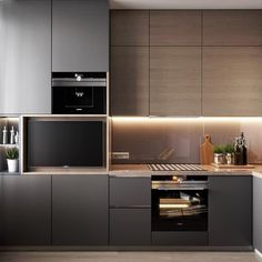 New interesting and comfortable kitchen decor idea! The main thing is that it's so modern and trending now! Decorate it with our special and popular home supplies and decorations! Kitchen Dinning Room, Kitchen Room Design, Kitchen Cabinet Design, Modern Kitchen Design, Home Decor Kitchen, Interior Design Kitchen, Home Interior, Luxury Kitchens, Home Kitchens