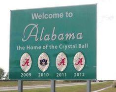 Alabama ROLL TIDE!