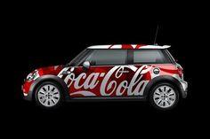 bls blssign&print blssignenprint sign print coca cola car wrap