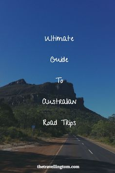 Road trips in Australia are perhaps the best way to see this  beautiful and gigantic country! If you want advice on planning an Australian road trip of your own, then you'll want to check this article out!: